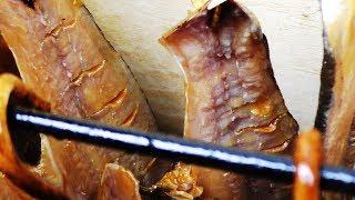 ХОЛОДНОЕ КОПЧЕНИЕ РЫБЫ ПО МОКРОМУ,  Очень вкусная копчёная рыба!