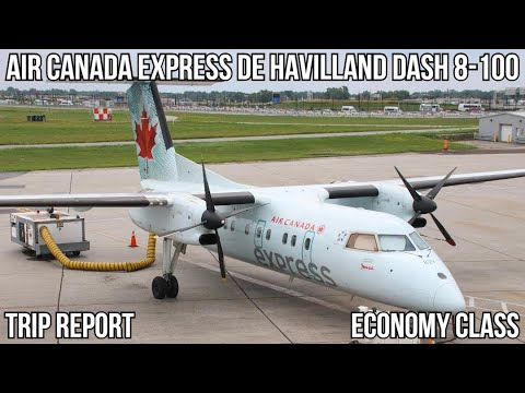 [TRIP REPORT] Air Canada Express Dash 8-100 (ECONOMY) Montreal (YUL) - Ottawa (YOW)