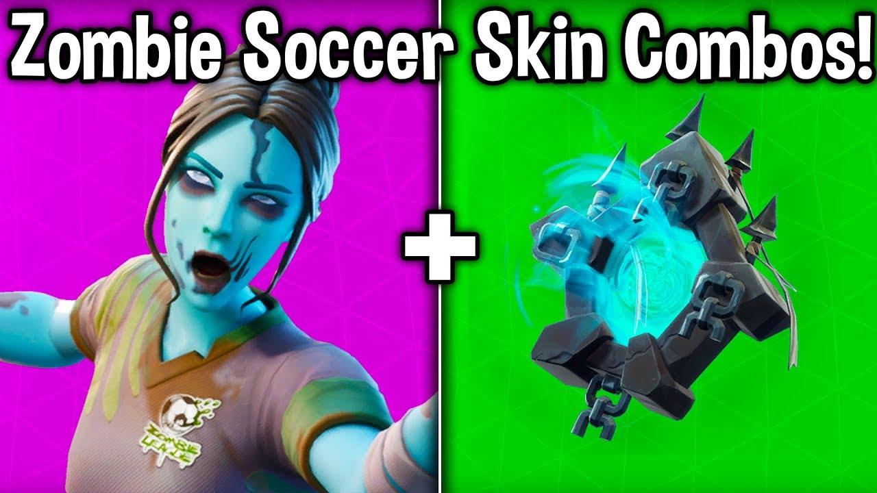 Best Dead Ball Skin Backbling Combos In Fortnite Zombie Soccer Skin Combinations