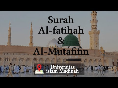 MERDUNYA SUARA IMAM MASJID DI UNIVERSITAS ISLAM MADINAH