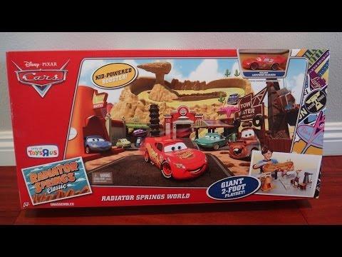 Disney Pixar Cars Radiator Springs World Play Set - Radiator Springs Classic Found At Toys R Us