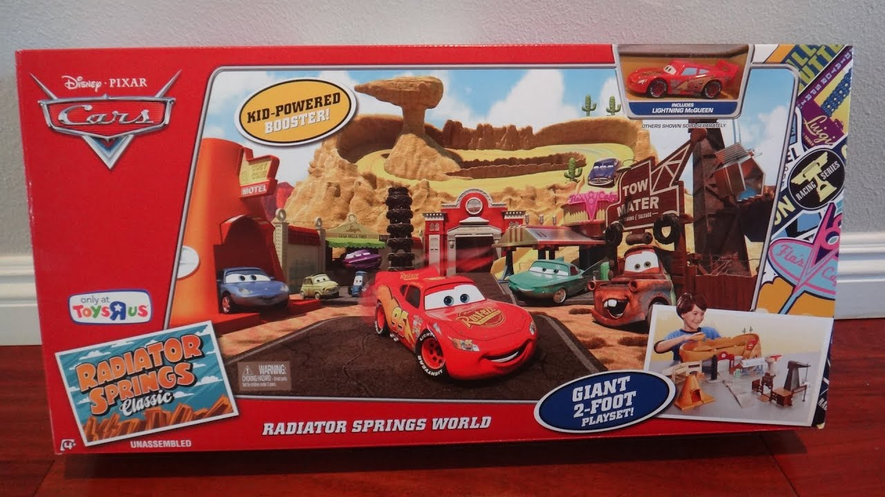 Disney Pixar Cars Radiator Springs World Play set - Radiator ...