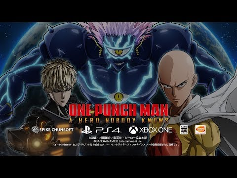 One Punch Man is getting a fighting game. Titled One Punch Man A Hero Nobody Knows, it's slated for