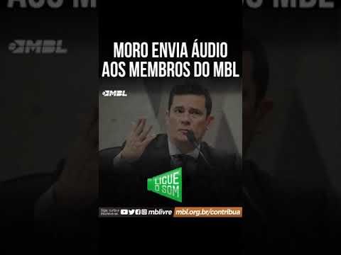 """Moro pede desculpas ao MBL por chamá-los de """"tontos"""""""