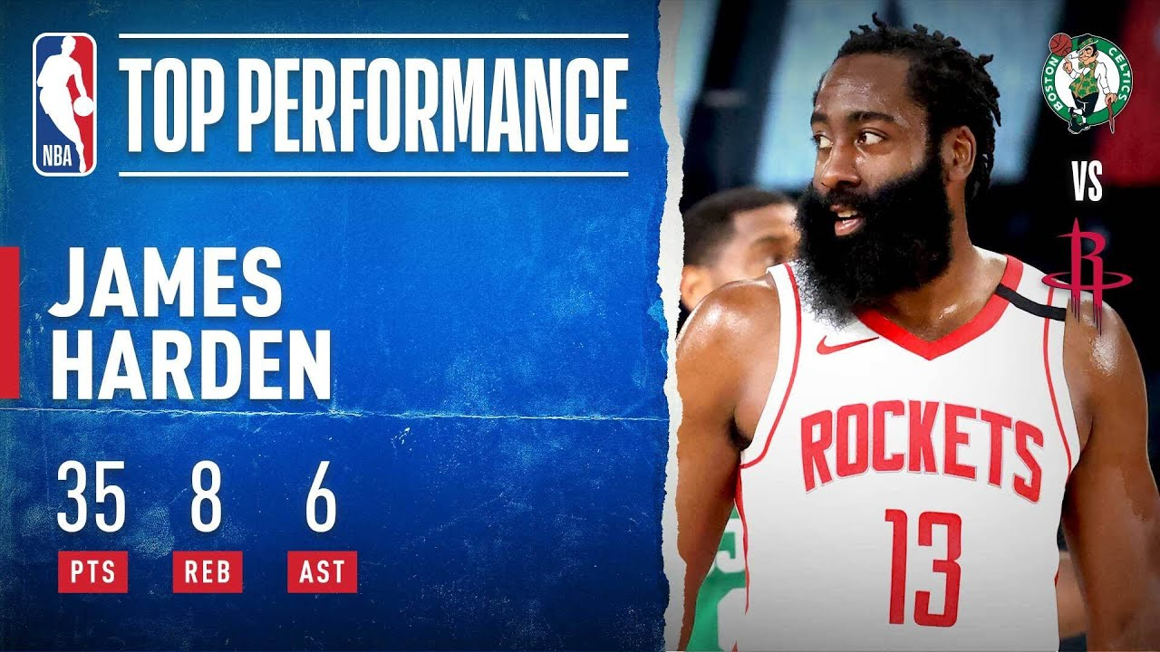 Harden FILLS IT UP In Rockets W!