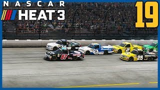 JORDAN ANDERSON MY HERO! | NASCAR Heat 3 Career Mode |Truck Hot Seat: Iowa| Ep. 19