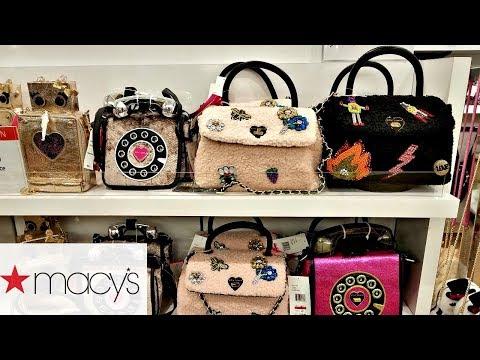 Shop With ME MACY'S HANDBAGS DOONEY & BOURKE BETSEY JOHNSON MICHAEL KORS 2018