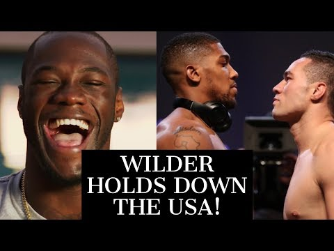 (WOW!) ANTHONY JOSHUA SMOKED BY WILDER IN US TV RATINGS | PULLS LESS THAN HALF THE VIEWERSHIP