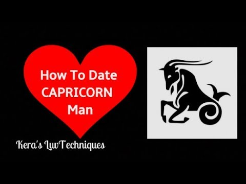 Dating a capricorn male
