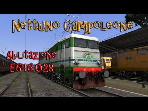 Abilitazione E646.028  Train Simulator 2017  Nettuno Campoleone