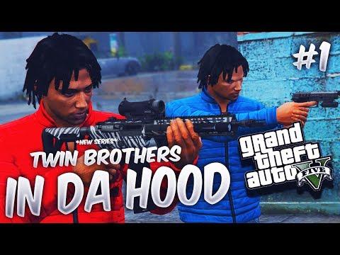 GTA 5 TWIN BROTHERS IN DA HOOD EP. 1 *NEW SERIES* 👬