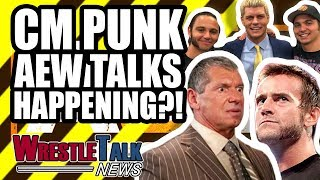 CM Punk To Talk To AEW Stars! HUGE WWE WrestleMania 35 Ending SCRAPPED! | WrestleTalk News