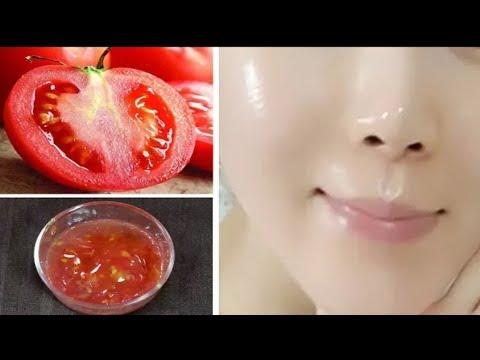 تبييض البشرة الوجه