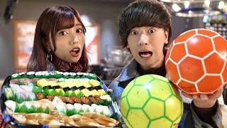 ボウリングの倒したピンの数だけ寿司大食いが面白すぎて全然集中できない件wwww