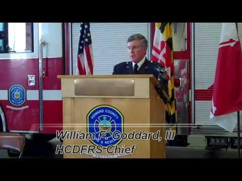 Savage Fire Station 6 Dedication Ceremony