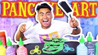 PANCAKE ART CHALLENGE!!! thumbnail
