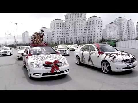 Turkmen toy Gelinalyjy Ashgabat city 2018