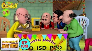 Cross Connection - Motu Patlu in Hindi -  3D Animated cartoon series for kids  - As on Nickelodeon