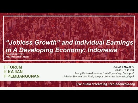 FKP 2017 05 05 - Job Displacement and Individual Earnings in a Developing Economy: Indonesia