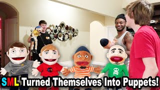 SML Turned Themselves Into PUPPETS!!! *BTS*