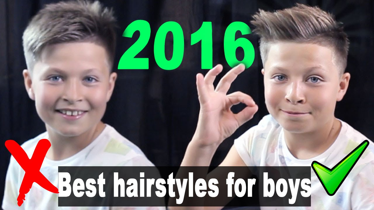 Best Hairstyles For Boys 2017 Quiff Hairstyle Back To School Ulisesworld Youtube