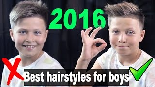 Best Hairstyles for Boys 2017 - Quiff Hairstyle - Back to School - UlisesWorld