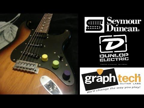 Fender Squier Affinity Strat Mods! - YouTube