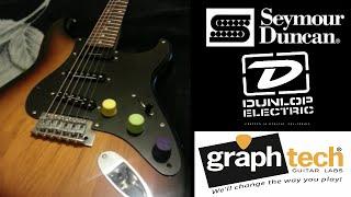 Fender Squier Affinity Strat Mods!