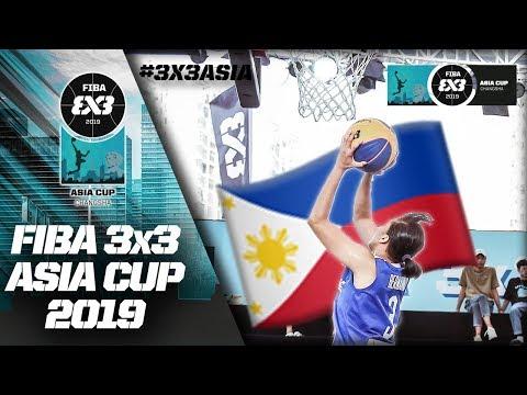Gilas 3x3 Women def. Sri Lanka, 21-6 (VIDEO) FIBA 3x3 Asia Cup 2019