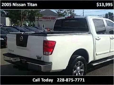 2005 Nissan Titan Used Cars Ocean Springs MS