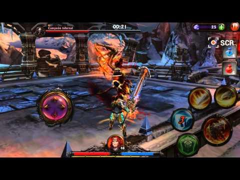 Eternity Warriors 3 Final Boss Normal Mode