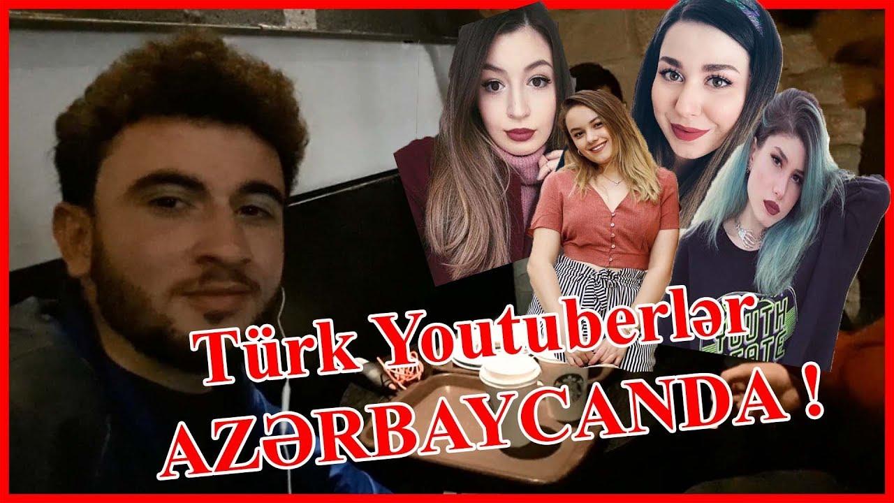 TÜRK YOUTUBERLƏR BAKIDA ! Başak Karahan, Şeyda Erdoğan Bakü VLOG #1