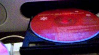 My mac spits out cd!