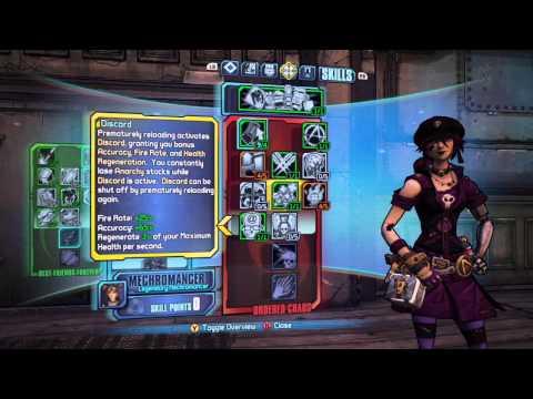 Borderlands 2 Level 61 Mechromancer Build- Voltaic Anarchist