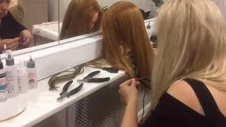 Капсульное наращивание волос. Обучение наращиванию волос.