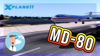 Cold And Dark MD-80 - [X-plane 11] - How to get this plane running?!?