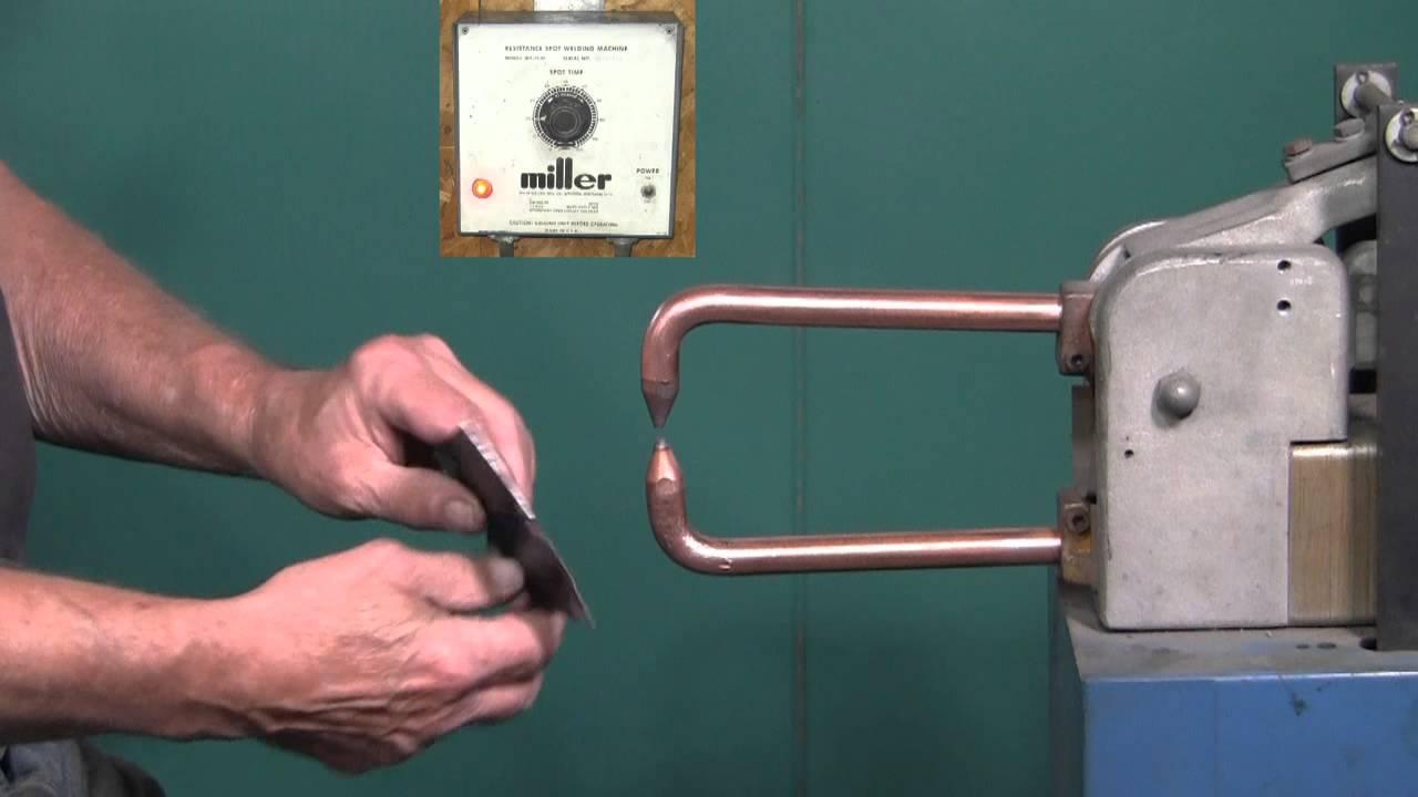 Spot Welding Steel & Stainless Steel - YouTube