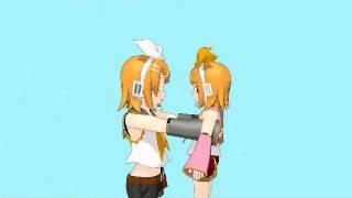 [MMD] The twins meet their Chibi selves