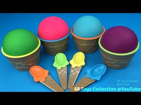 Thumbnail: Play Doh Ice Cream Surprise Cups Paw Patrol Finding Dory The Good Dinosaur Eggs Disney Princess Toy