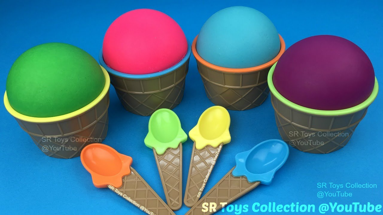 Play Doh Ice Cream Surprise Cups Paw Patrol Finding Dory The Good