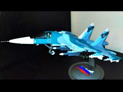 Модель Су-34 Terebo 1/72 с Aliexpress