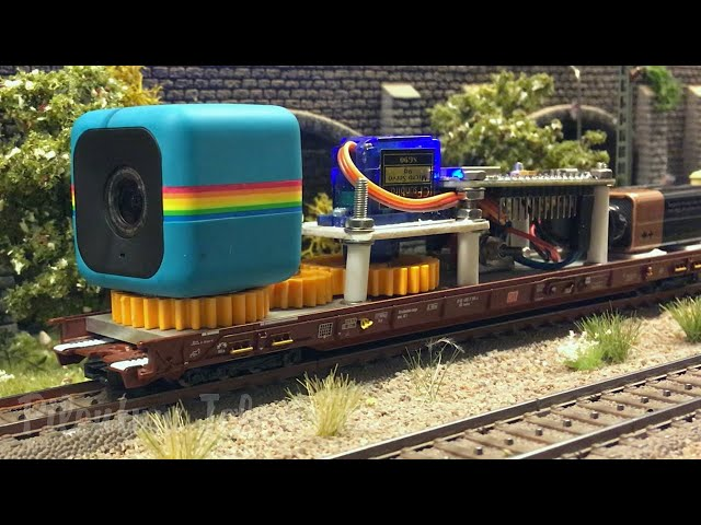 Camera Dolly for Model Railways and Model Railroads by Jens Krogsgaard - 鉄道模型 カメラドリー