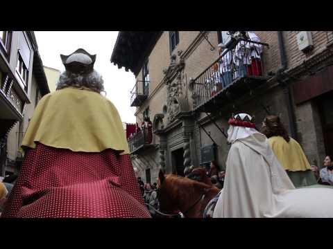 Misterio de Reyes 2016, Sangüesa, Navarra