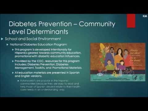 Diabetes Among Latinos