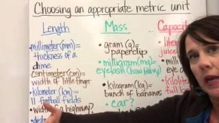 Metric system part 1