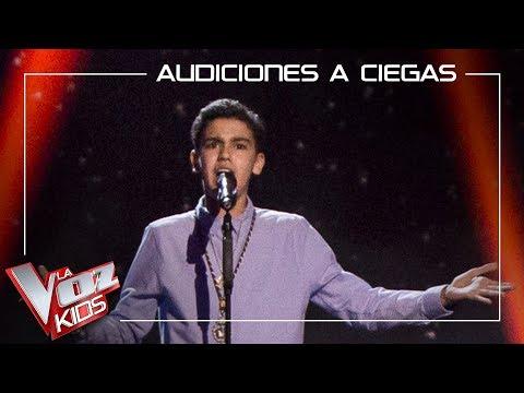 Hugo Sánchez Canta 'Madre Mía De La Esperanza' | Audiciones A Ciegas | La Voz Kids Antena 3 2019