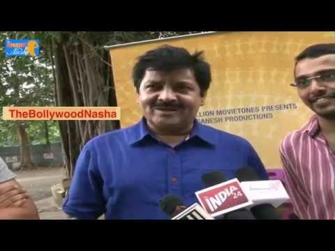 Udit Narayan Sung for Marathi Film Than Than Gopal