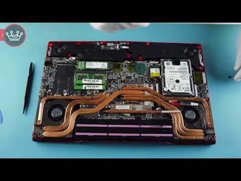 MSI GP63 Leopard 8RE | How to Service, Upgrade & Fix Laptop (Teardown)
