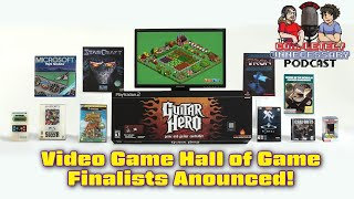 Video Game Hall of Fame Finalist Announced!