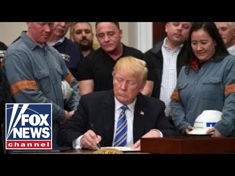 Trump insists tariffs are necessary for national security